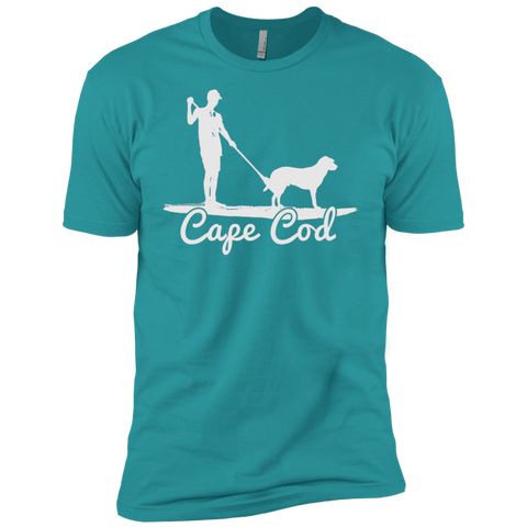 Cape Cod SUP Dog Premium Short Sleeve T-Shirt