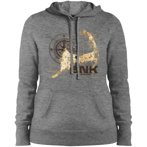 Sandy Neck Ladies' Pullover Hooded Sweatshirt