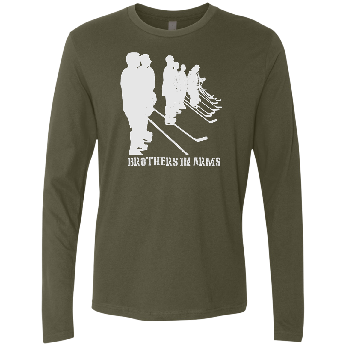 Brothers In Arms Men's Premium LS