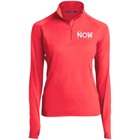 LiFE is NOW Women's 1/2 Zip Performance Pullover