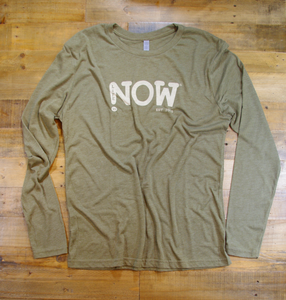 LiFE is NOW...Longsleeve Tri-Blend Crew