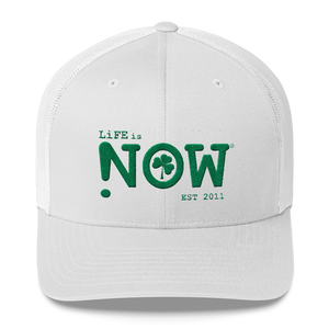 LiFE is NOW Shamrock Trucker Cap