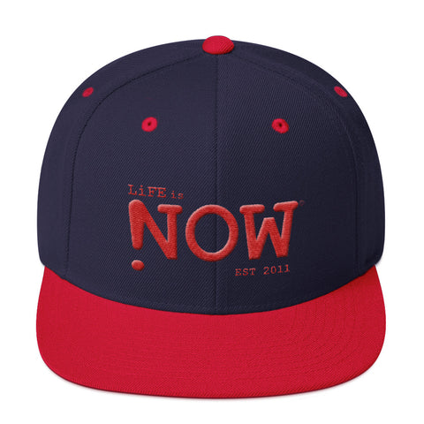 LiFE is NOW 3D Puff Snapback Hat