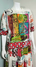 "Load image into Gallery viewer, Vintage 1990s V C TORIAS ""Wearable Art"" 2PC Dress - XS/S"