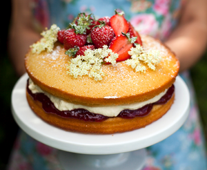 Donal Skehan's Strawberry and Elderflower Cake