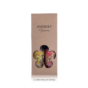 Ashbolt two Olive Oil Gift Box 250ml bottles