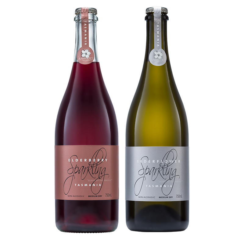 Elderflower and Elderberry Sparkling - 750ml Mixed Case