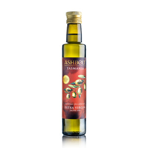 Extra Virgin Olive Oil by Ashbolt in a bottle