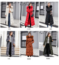 Load image into Gallery viewer, Alluringz Exquisite Fur Collar Winter Coat - Alluringz