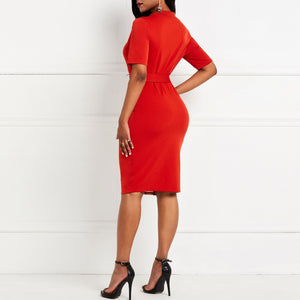Alluringz Elegant Plus Size Party Dress - Alluringz