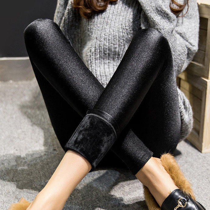 Alluingz Winter Thermal Leggings - Alluringz