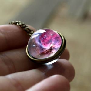 Alluringz Double Sided Galaxy Necklace - Alluringz