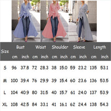 Load image into Gallery viewer, Alluringz Elegant Long Blouse - Alluringz