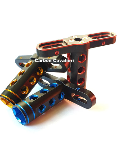 17mm Wrench, Red Blue Gold
