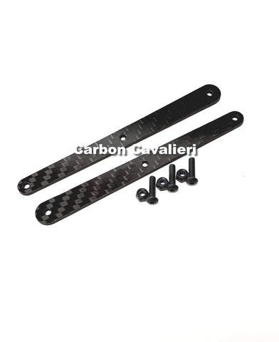 Xray XB8 2mm Rear Stifning inkl.Screws