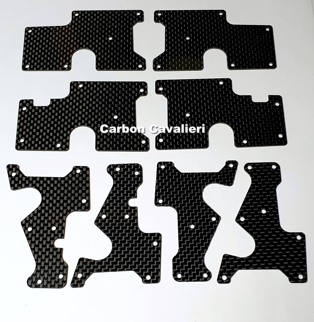 Cobra SRX8   0,5mm Arm Insert Kit Under and Over
