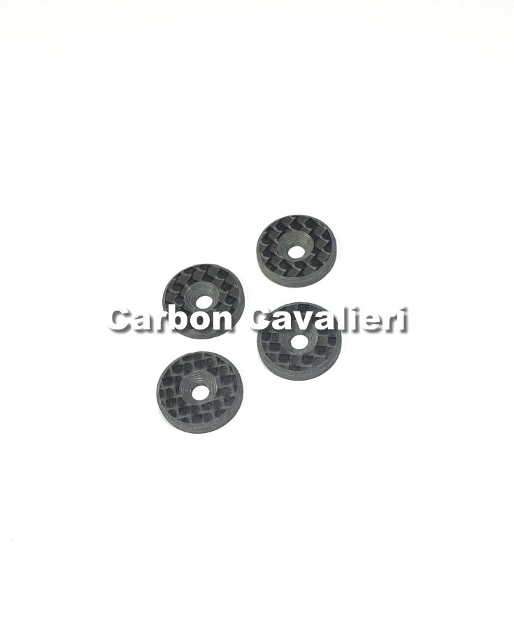 Carbon fiber Wing Washer 4pc.