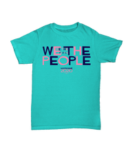 Load image into Gallery viewer, T-Shirt: We The People (Scuba Blue)