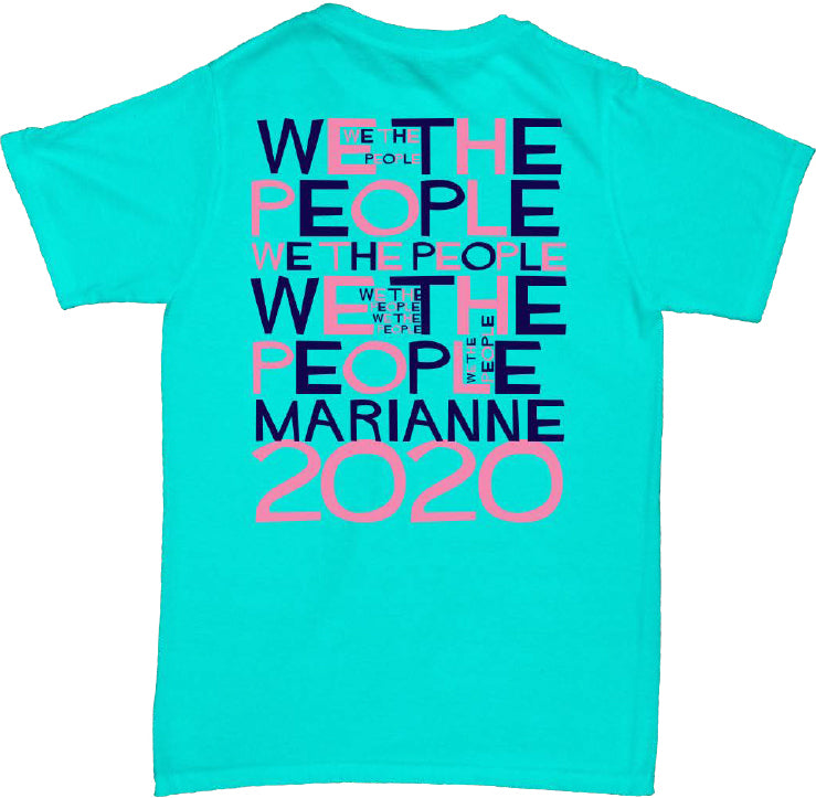 T-Shirt: We The People (Scuba Blue)