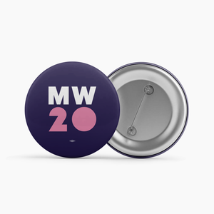 """MW 20"" Blue Button"