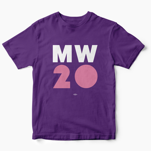 """MW 20"" Purple Tee"