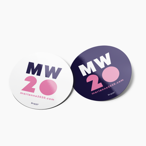 """MW 20"" Sticker Pack"