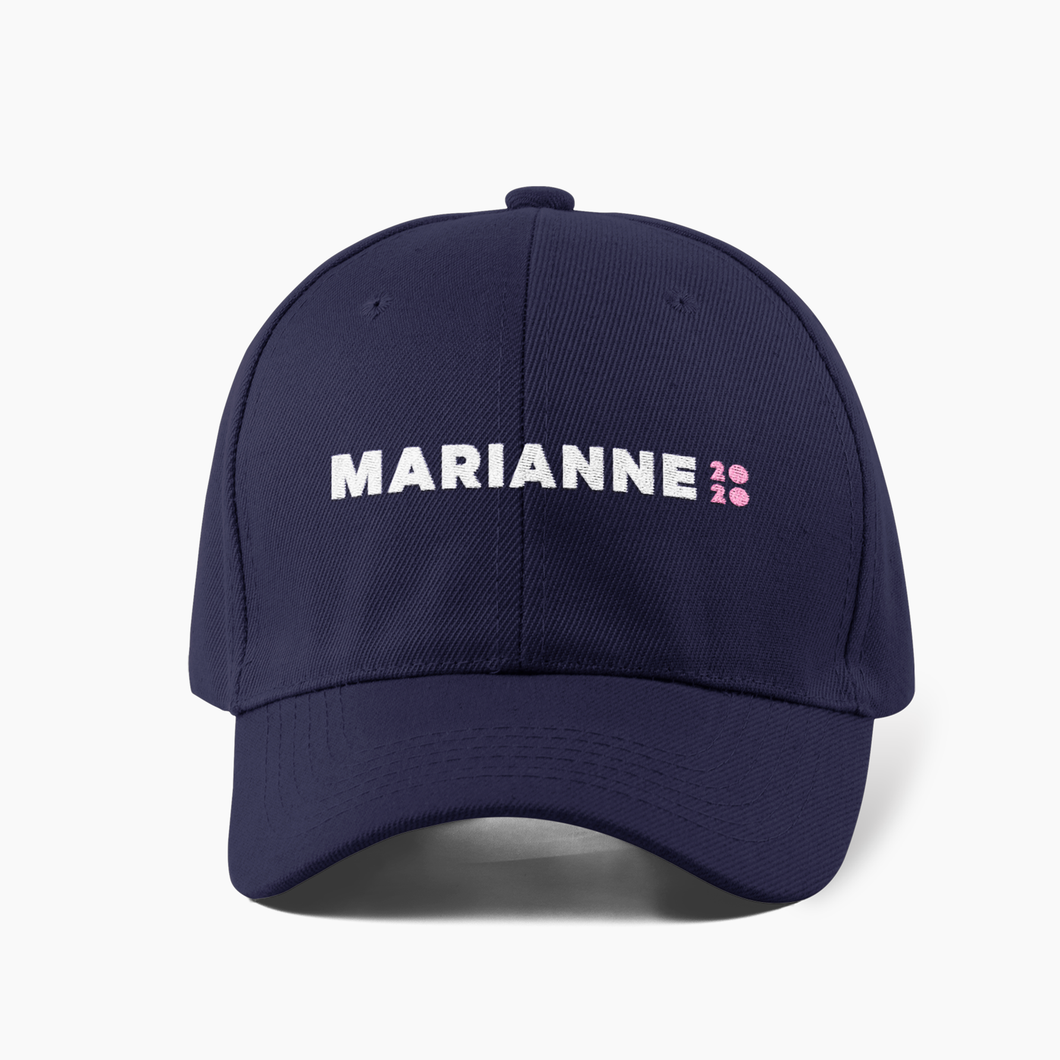 Marianne 2020 Official Campaign Cap (Navy)