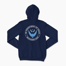 Load image into Gallery viewer, Youth Dept. of Peace Navy Sweatshirt