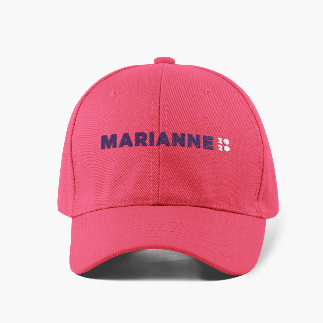 Marianne 2020 Official Campaign Cap (Pink)