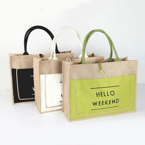 Eco-Friendly Linen Bag. Best lifestyle product.