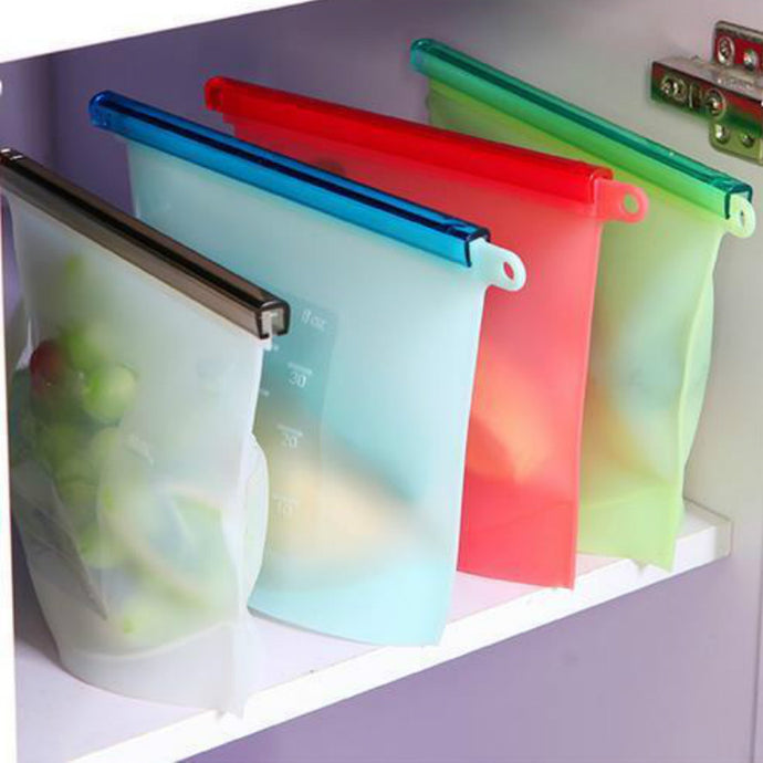Best non plastic multicolor refrigerator vegetable, fish, fruits, meat, soup storage bags
