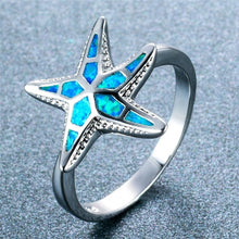 Load image into Gallery viewer, Starfish Ring.