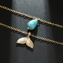 Load image into Gallery viewer, Mermaid Tail Necklace