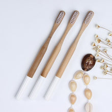 Load image into Gallery viewer, Eco-friendly Organic Biodegradable Bamboo Toothbrush