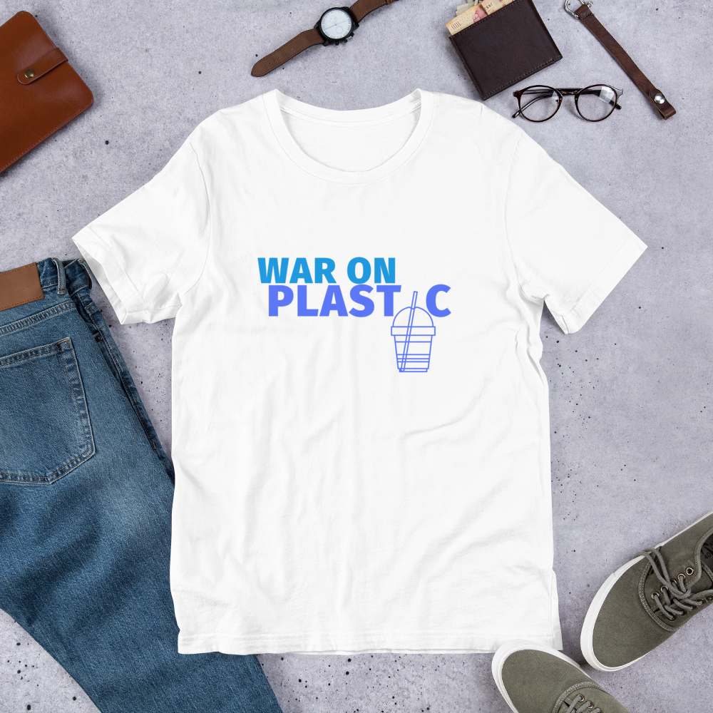 White War on Plastic Men's T-Shirt.