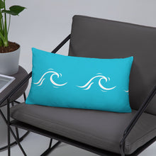 Load image into Gallery viewer, Wave print pillow