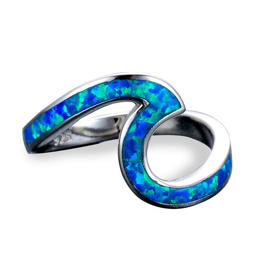 Blue Wave Ring.