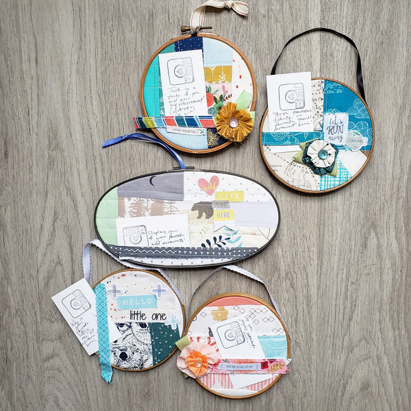 Top Five List: Embroidery Hoop Projects for Autumn and Beyond