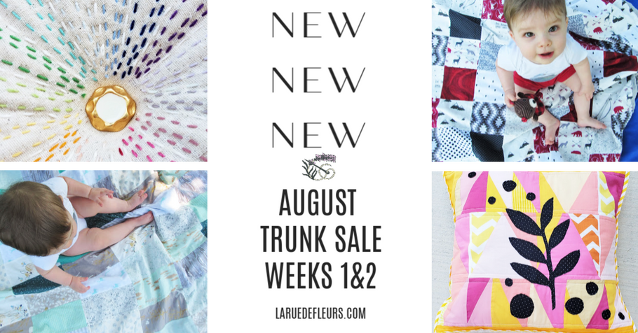 August Trunk Sale Weeks 1 & 2 Product Recap