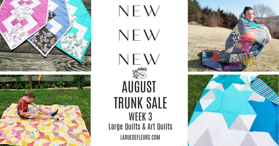 August Trunk Sale Week Three, Autumn Plans and My NEW Janome Sewing Machine