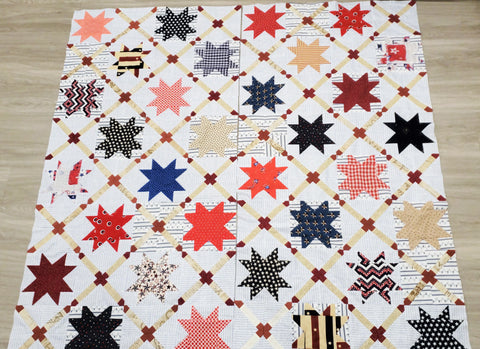 Stars and Straps Quilt