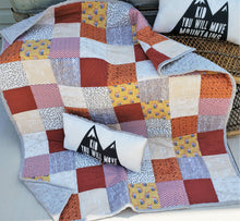 Load image into Gallery viewer, Woodland Mountain Quilt and Pillow Bundle