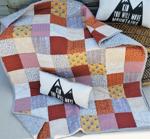 Woodland Mountain Quilt and Pillow Bundle