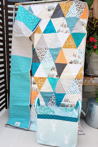 Tahoe Triangles Nursery Bundle