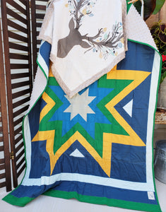 Going Stag Quilt and Lovey Gift Bundle