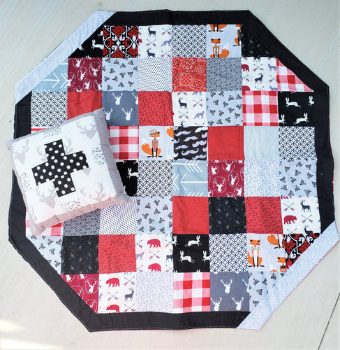 Huntsman Play Mat and Pillow Bundle