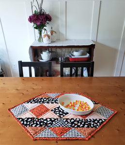 Patchwork Casserole Dish Hot Pad or Small Table Runner