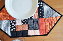 Load image into Gallery viewer, Halloween Patchwork Place Mat Set of Four