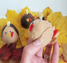 Load image into Gallery viewer, Tom Turkey Tweet Thanksgiving Ornament