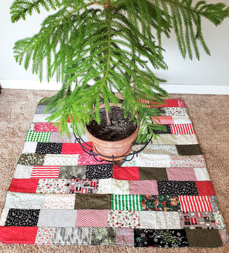 Vintage Christmas Tree Skirt
